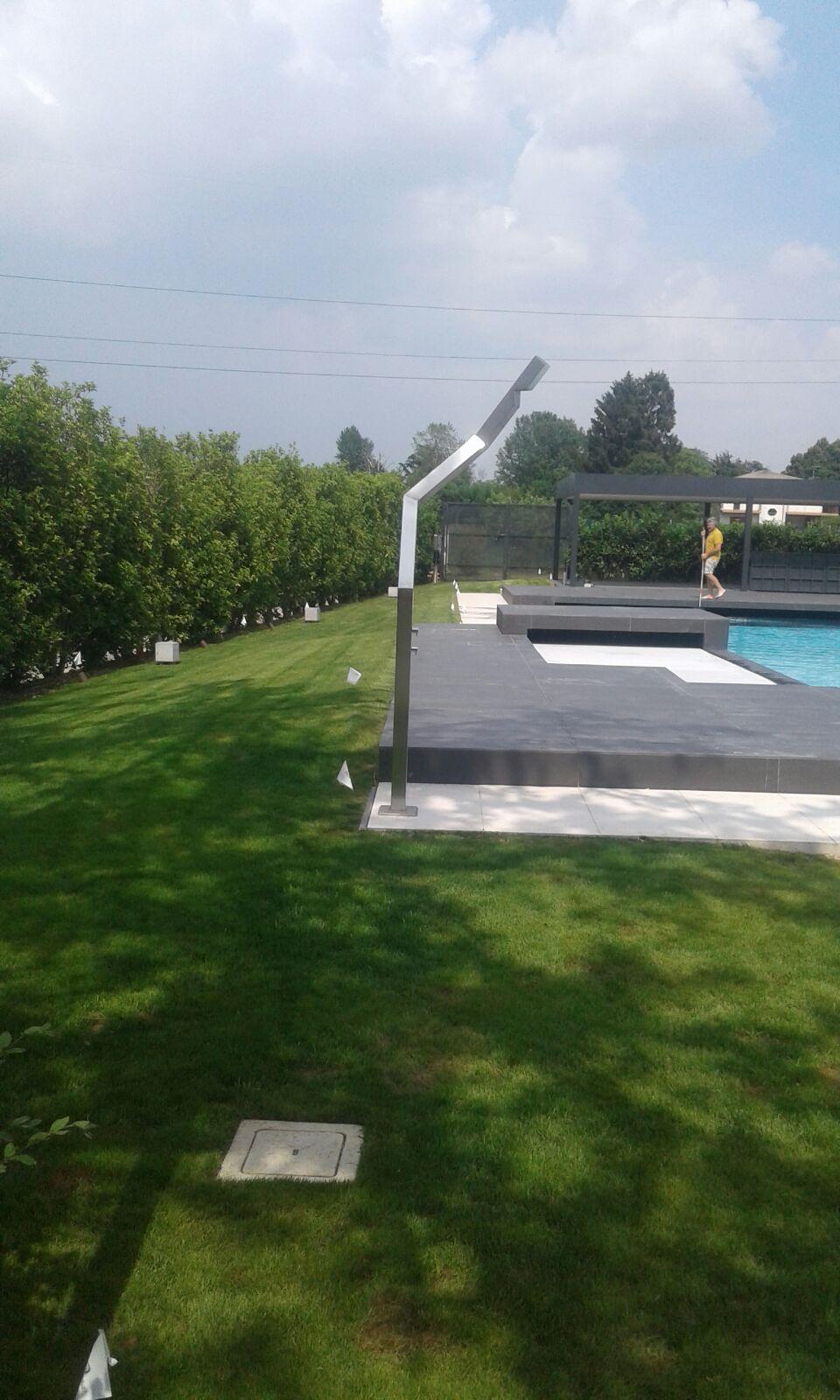 realizziamo impianti piscina Vivai Pistore