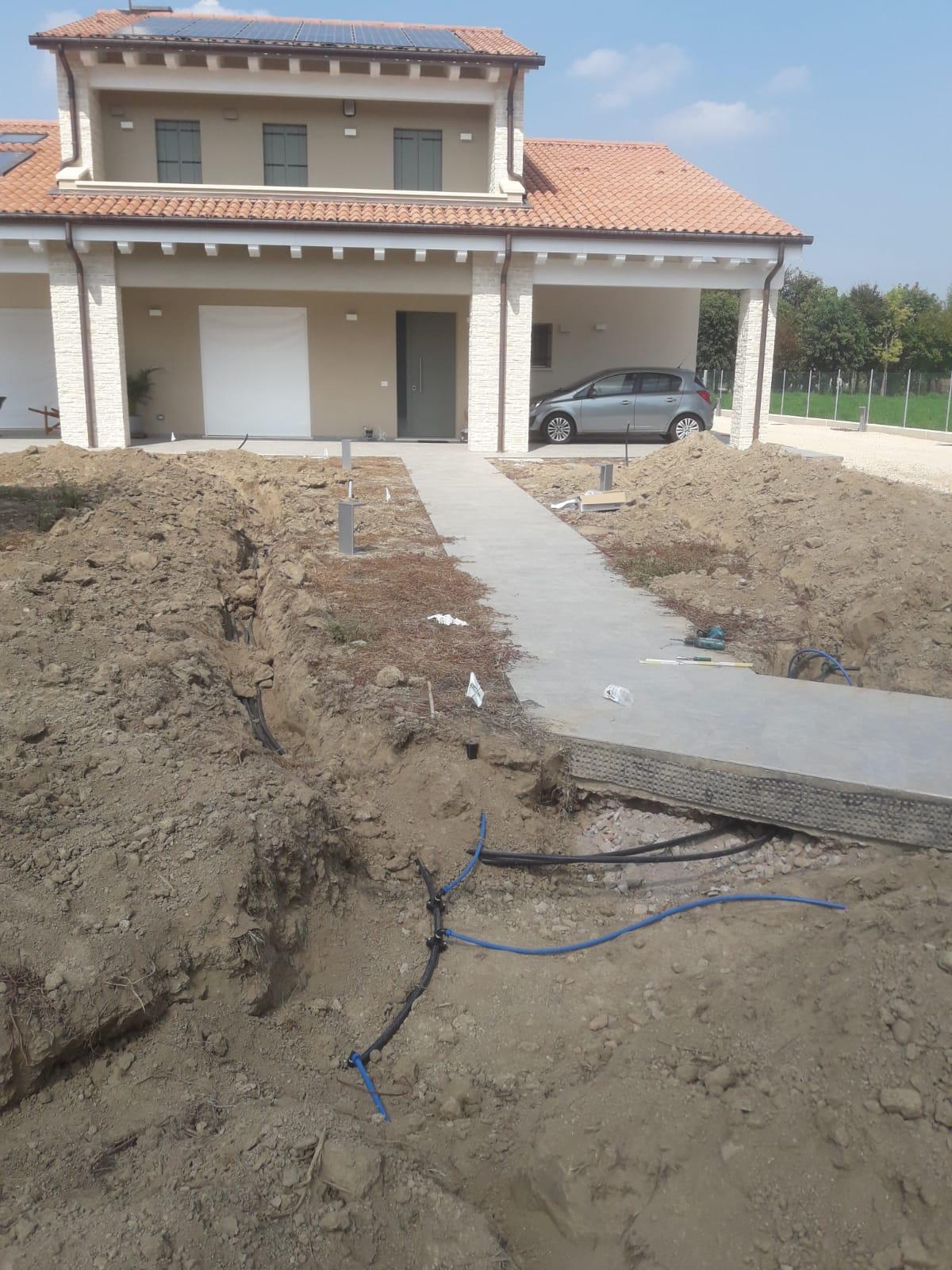 giardino villetta Vivai Pistore