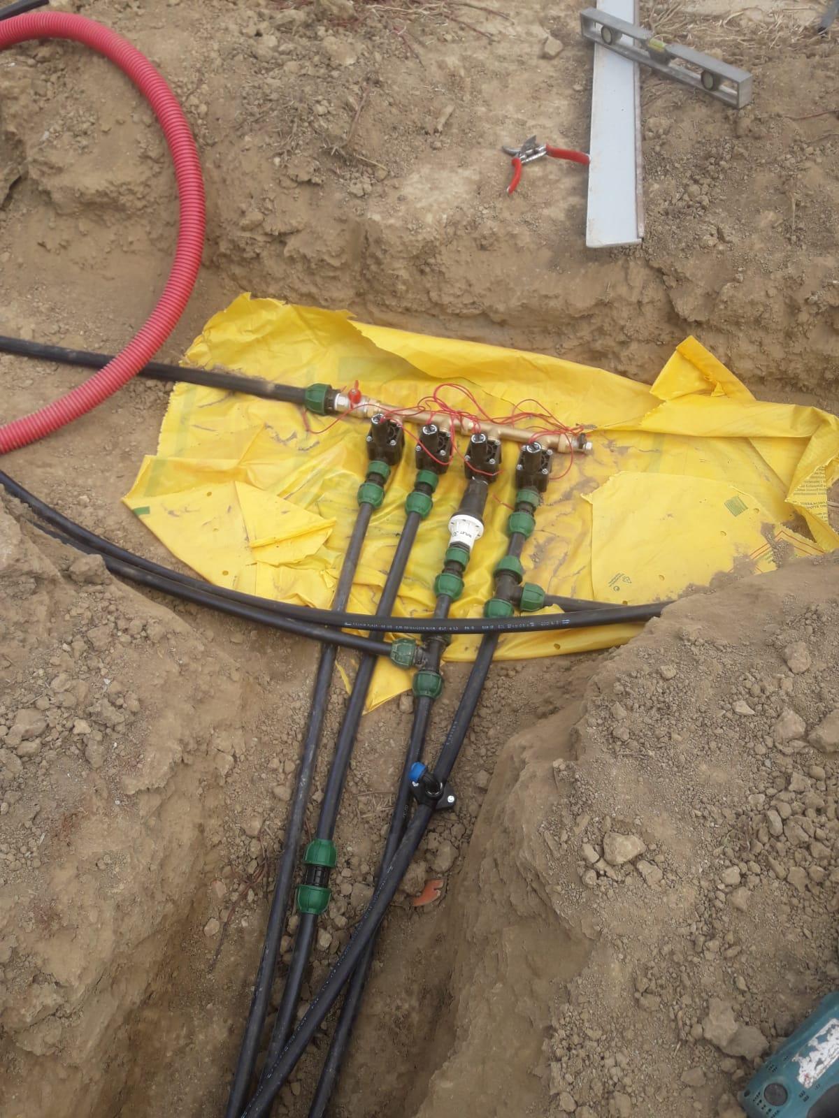 irrigazione montaggio impianto Vivai Pistore