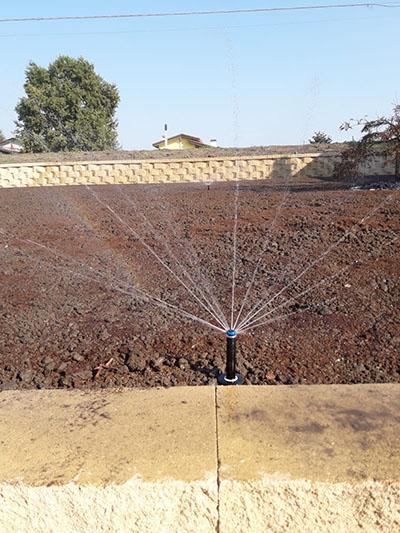 Impianto irrigazione villetta