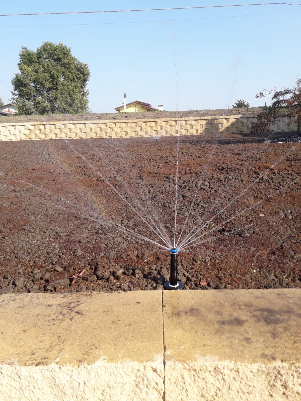irrigazione test funzionamento Vivai Pistore