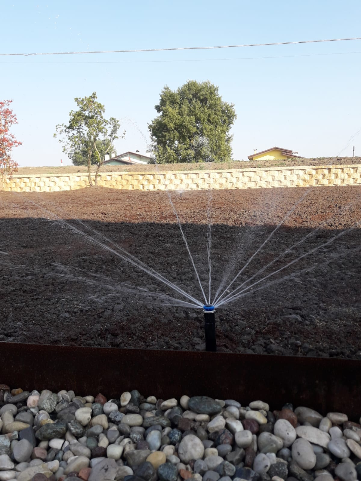 test impianto irrigazione Vivai Pistore