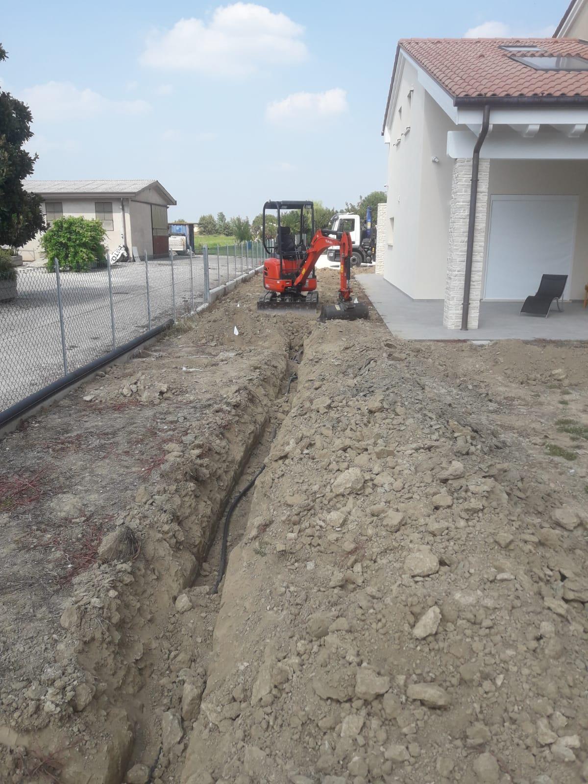 escavatore Vivai Pistore