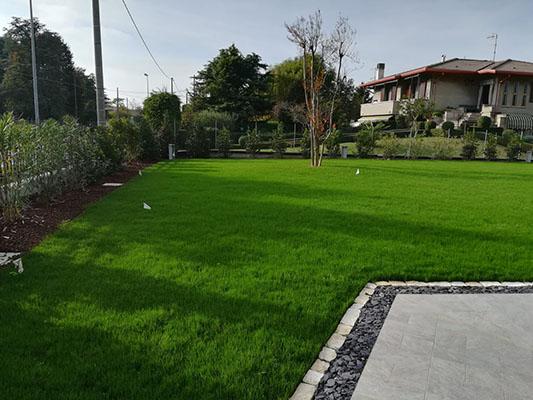 Risultato realizzazione giardino Villetta