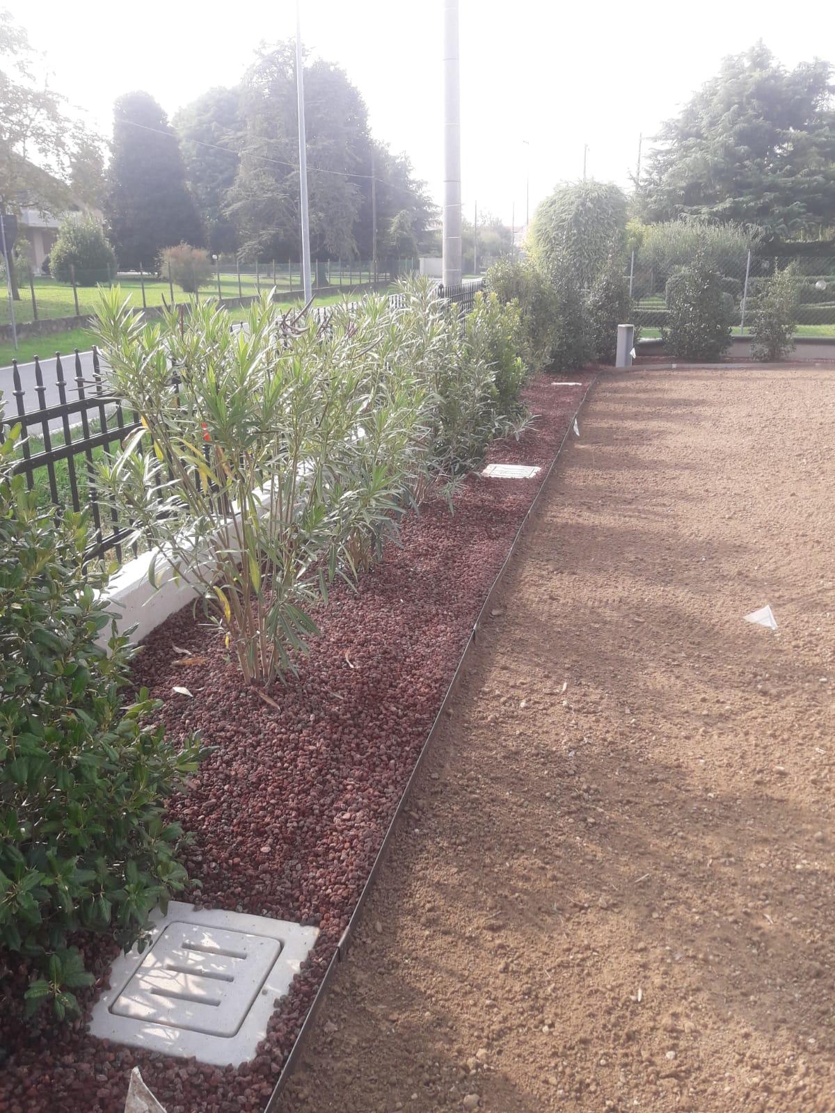 Realizzazione giardino Villetta
